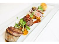 Chef de partie required for fine dining restaurant . £25k. Ig76QQ