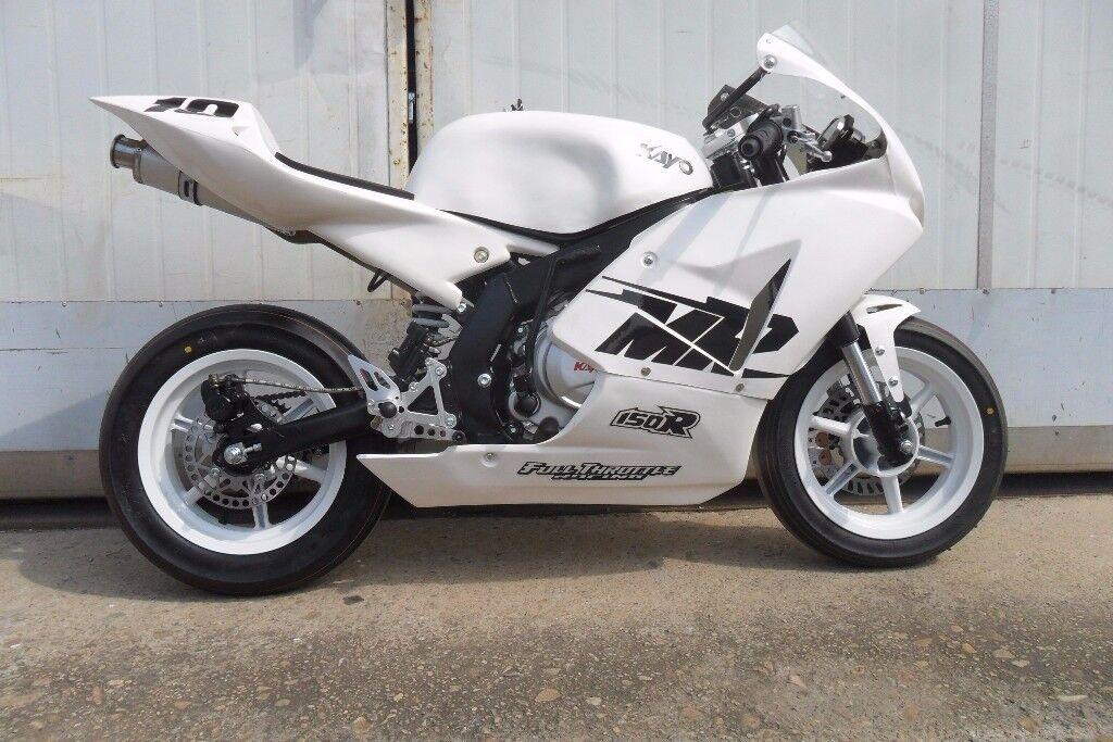 BRAND NEW-KAYO MR150 MiniGP Competition Track Bike Motorcycle 150cc