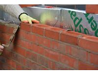 Brick laying, Garden walls, extensions, conservatory walls.