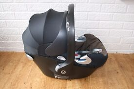Mamas and Papas Cybex Platinum baby infant car seat brown and navy blue CAN POST