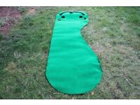 Putting practice mat. Good quality.