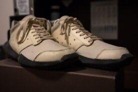 Rick Owens x Adidas Techrunner UK 7.5 White Colourway