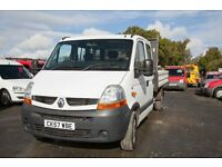 RENAULT MASTER LL35 DOUBLE CAB 100 TIPPER – 57-REG