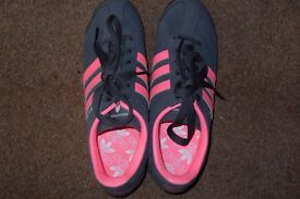 1pr TRAINERS SIZE 6 PINK AND GREY [BRAND NEW] £15 CASH [ADIDAS]
