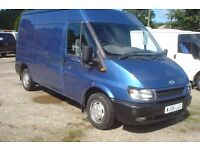 Ford Transit 280 mwb 1998cc turbo diesel, showing 121,000 miles, 2006-06-plate new MOT