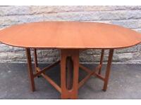 Mid Century Vintage Retro 1960s 1970s Teak folding dining table Fab Condition ercol gplan jentique