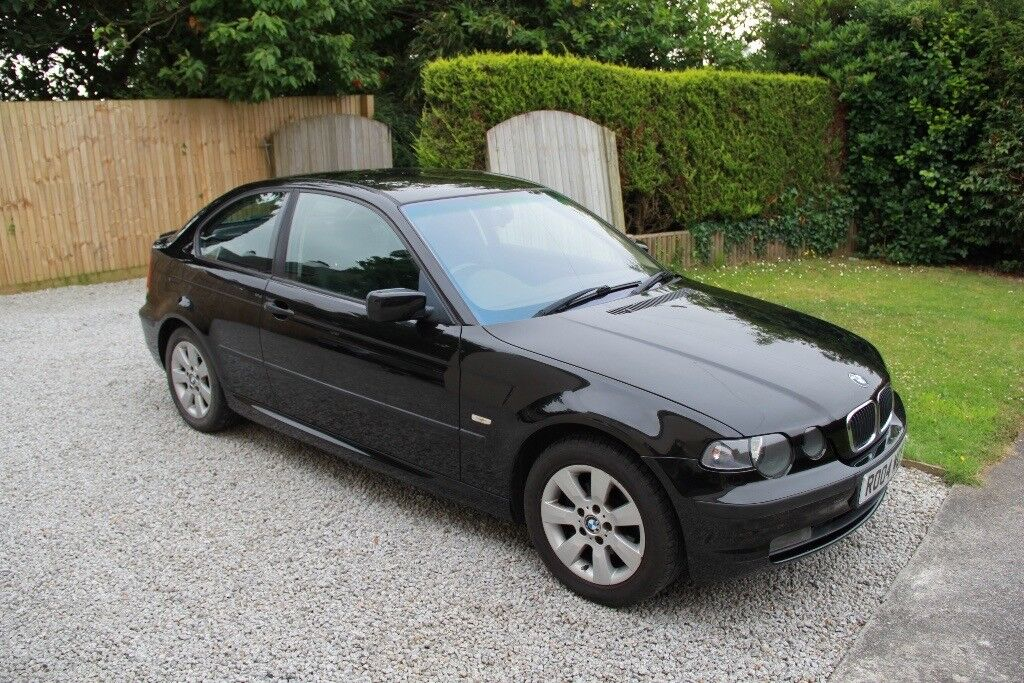 bmw 318ti compact e46 1995cc manual black no sunroof with. Black Bedroom Furniture Sets. Home Design Ideas