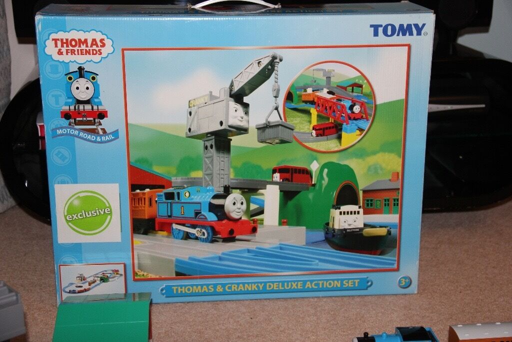 Thomas Tank Engine & Cranky Train Set