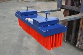 Forklift Brush Attachment Sweeper