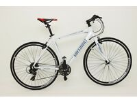 Brand New Hi-spec BIKES Road Bike Two Colours (White & Blue) for SALE JUST FOR £220 NEW