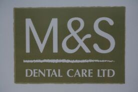 Full Time Dentist required for M&S Dental Care Fort William and Glencoe