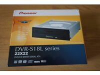 Pioneer DVR-221BK 22x Internal SATA DVD/CD Burner Writer with Dual Layer Capability - Black