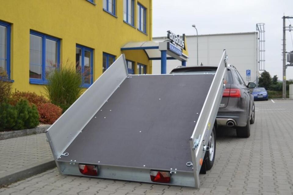 Agados Anhänger TITUS Hochlader Alu kippbar 750 kg in Weiden (Oberpfalz)