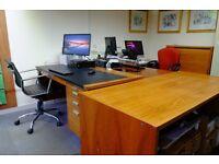 Office for 4 desks near Guildford