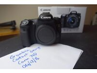 Canon 70D Body Mint Condition As New