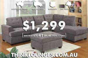 BRAND NEW HIGH QUALITY MODERN LOUNGE & SOFAS, FREE HOME DELIVERY Melbourne CBD Melbourne City Preview