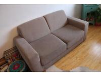 2 x Next Grey 2 Seater sofas