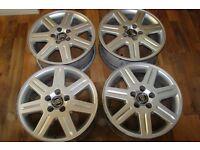 4 Volvo S40/V50 alloy wheels