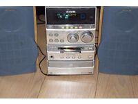 AIWA MINI DISC/CD/RADIO/AUXIN PLAY IPOD PHONE CAN BESEEN WORKING
