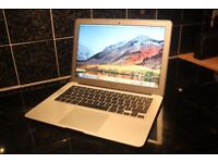 APPLE MACBOOK AIR 2017 i5 1.8ghz/ 8gb RAM 128GB SSD HD13.3 INCH SCREEN