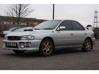 Subaru impreza 2.0 Turbo Silver manual
