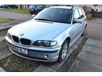 BMW 318i SE touring 2.0l estate spares repair, suspected head gasket starts and runs.