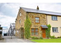 A first class 3 Bedroom stone built modern cottage located in the desirable hamlet of Iveston.