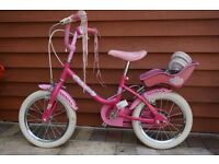 "Sunbeam Heartz 14 "" Bike by Raleigh - Girls"