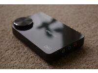 Creative GigaWorks ProGamer G550W Wireless Speaker System 5.1 + Creative X-Fi 5.1 Pro USB Sound Card