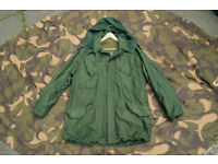 Customized Vintage Dutch Army M53 Field Jacket with Wool Liner +Hood