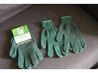 2 pair pack of gardening gloves