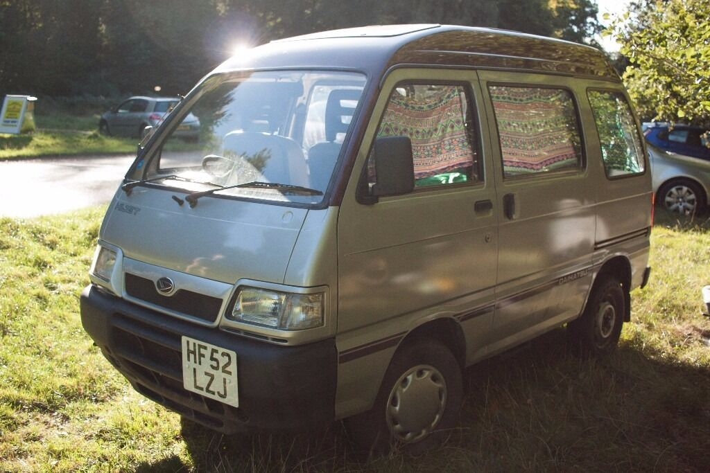 daihatsu hijet 1300 16v efi mpv mini camper van not rascal in dunstable bedfordshire. Black Bedroom Furniture Sets. Home Design Ideas