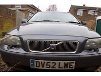 VOLVO V70 Estate with 11 month MOT 499ono GOING CHEAP QUICK SALE, OFFERS, Read description