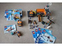 Lego Arctic sets 60032, 60033 and 60036 (retired products)
