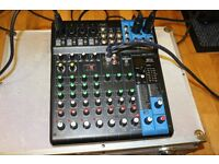 Up for sale is Yamaha MG10XU mixer with built in Effects ( 24 digital effects) and USB recoding out