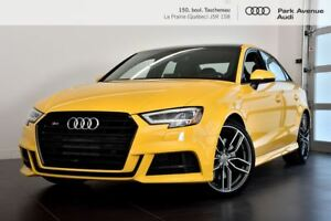 2017 Audi S3 2.0 TFSI TECHNIK ! NOUVEL ARRIVAGE !