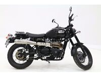 2015 Triumph Scrambler 900 loaded with extras ----- Save £300 ----- Price Promise!!!!!