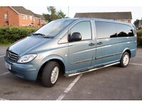 Mercedes-Benz Vito 9 Seater Minibus 2.1 111 CDI - Extra Long (Automatic)