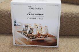 Essence Hurricane Candle Set - Brand new in box