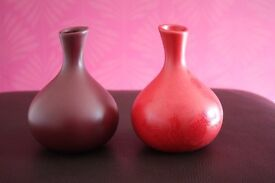 Red Vases by Next