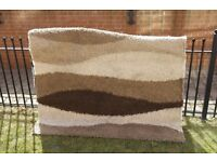 Large Shaggy Rug car boot sale 170 x 230 cm