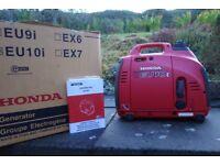 Honda eu10i suitcase generator