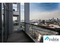 Brand new 2 bed apartment on the 19th floor of Aurelia (Canning Town) overlooking London!