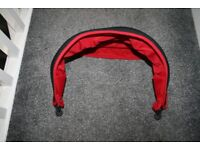 Silver Cross Simplicity car seat HOOD sun canopy Black / red CAN POST