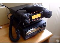 Yaesu FT 857D like brand new, only used for a couple of hours + Power Supply