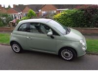 Fiat 500 FOR SALE in YE YE GREEN (rare colour), low mileage & great condition £4,750 ONO