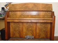 Bentley Overstrung Upright Piano - Walnut