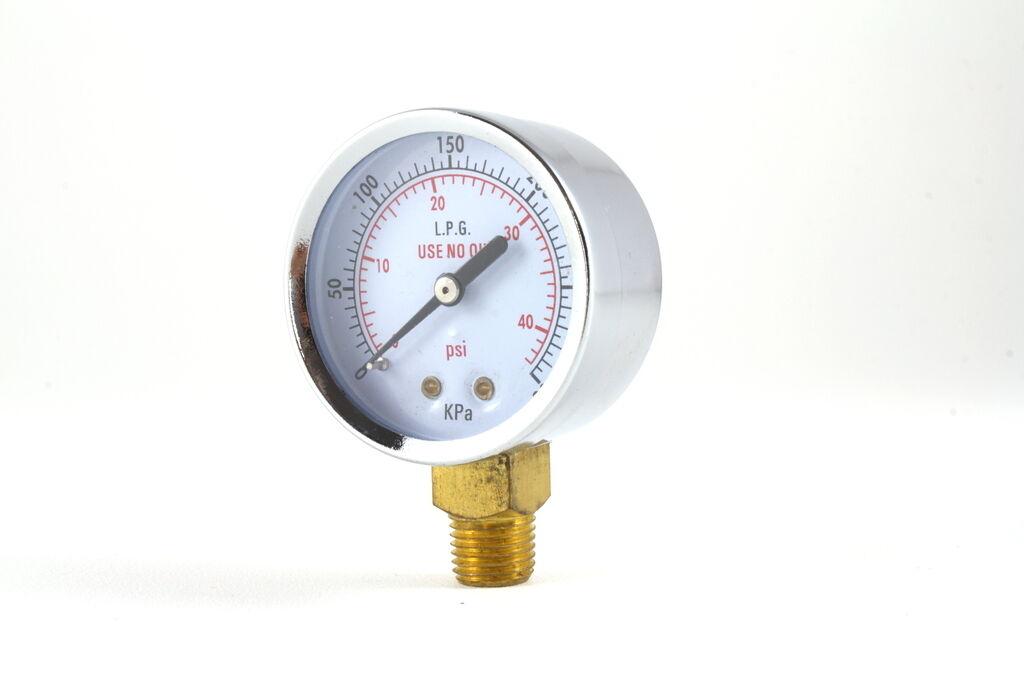 Low Pressure Gauge For Propane Regulator 0 40 Psi 2