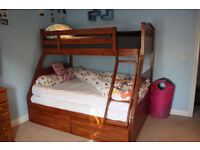Top Quality Bunker Bed with Mattress