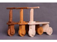 Wood bike toy, scooter, tricycle, ride toy photo props, baby toddler photographer